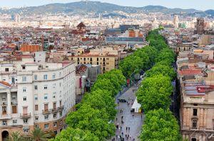 29494075-Las-Ramblas-de-Barcelona-vista-a-rea-Foto-de-archivo